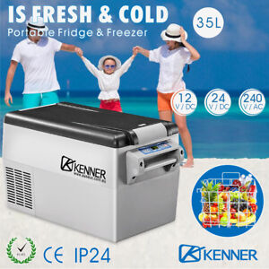 35L-Portable-Freezer-Fridge-Camping-Car-Boat-Caravan-Cooler-Refrigerator