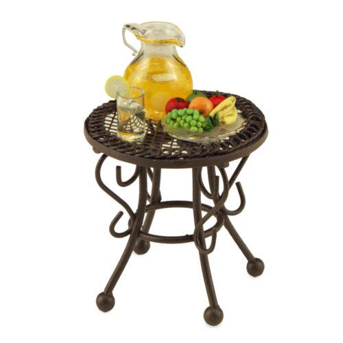 Reutter Porzellan petite table de jardin Garden Table Poupée 1:12 Art 1.807//7