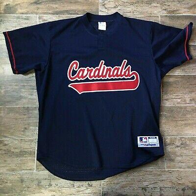 reputable site 47260 c3b9a Vintage St Louis Cardinals Scott Rolen #27 Majestic MLB Authentic Jersey  Size XL | eBay