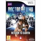 DOCTOR WHO RETURN TO EARTH NINTENDO WII