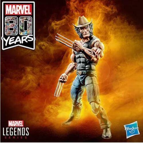 EN STOCK Marvel Legends 80th Cowboy Logan Exclusive Action Figure