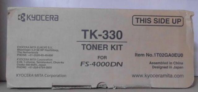 Kyocera Mita TK-330  Toner black für FS 4000 DN DTN +Resttonerbehälter OVP B