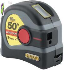 General Tools Ltm1 2 In 1 Laser Tape Measure Lcd Digital Display 50 Laser M