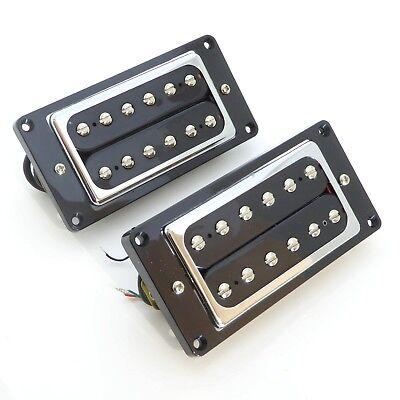 Artec Ceramic Mini Humbucker Guitar Pickups with mounting ring Bridge or Neck