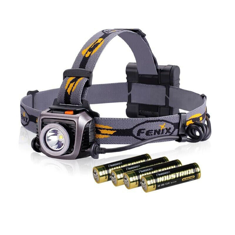 Fenix HP15UE Headlamp Head Torch Light CREE XM-L2 DEL 900 lm + 4  AA batterie