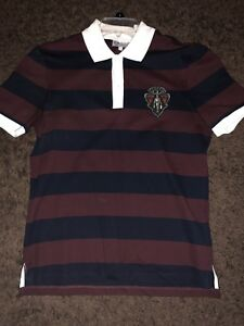 a39f60625a2 Image is loading Gucci-Equestrian-Crest-Polo