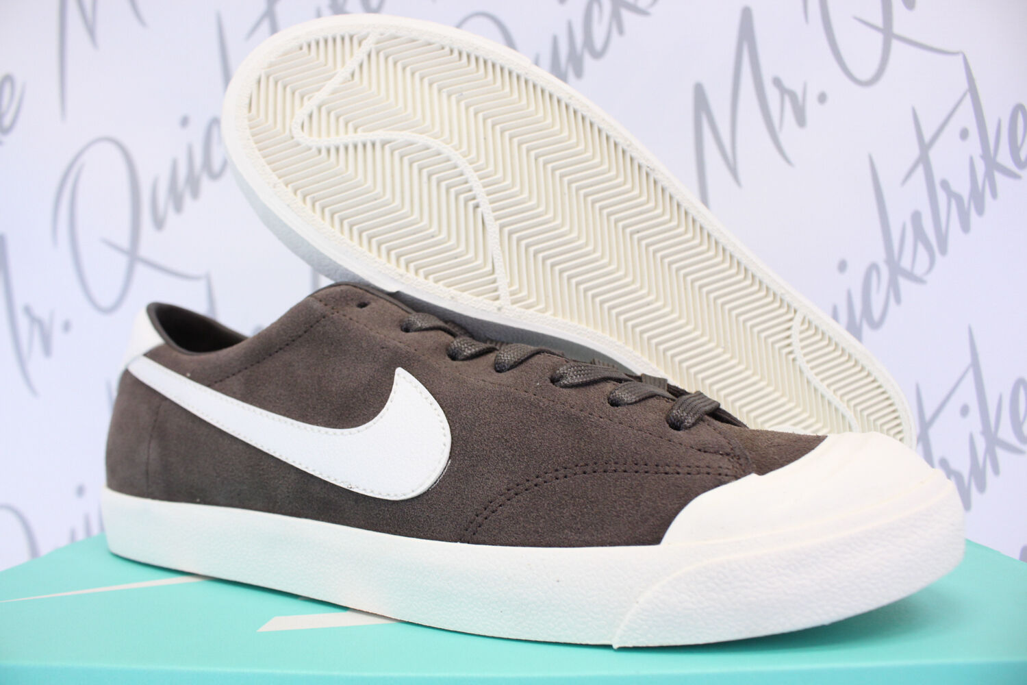 NIKE ZOOM ALL COURT CK SZ 12 BAROQUE BROWN IVORY CORY KENNEDY 806306 211