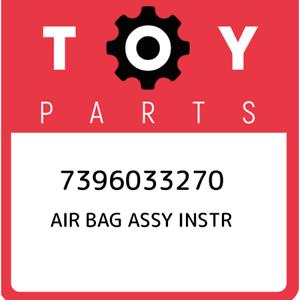 7396033270-Toyota-Air-bag-assy-instr-7396033270-New-Genuine-OEM-Part