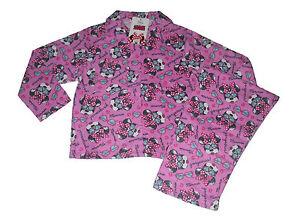 Filles-pyjamas-disney-minnie-mouse-rose-flanelle