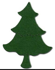 20-die-cut-Tree-Small-sizziz-7x5-5cm-Christmas-Xmas-card-making-craft-decoration