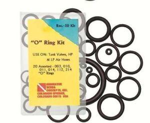 Notfall-O-Ring-Set-Kit-Save-a-dive-Kit-mit-20-O-Ringen-Reparatursatz-Teilesatz