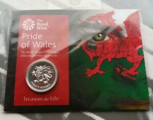 2016 Dragon Gallois 20 £ Monnaie Argent Pride Of Wales-afficher Le Titre D'origine Kkqzxd9s-08001231-159219854