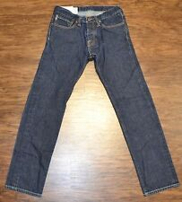 Abercrombie & Fitch  28 x 30 Men's Blue Jeans Denim Rollins Low Rise Skinny