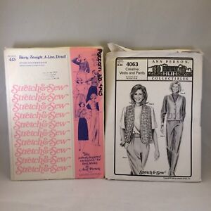 Ann Person Collectibles Stretch /& Sew Sewing Pattern Uncut//Cut Your Choice
