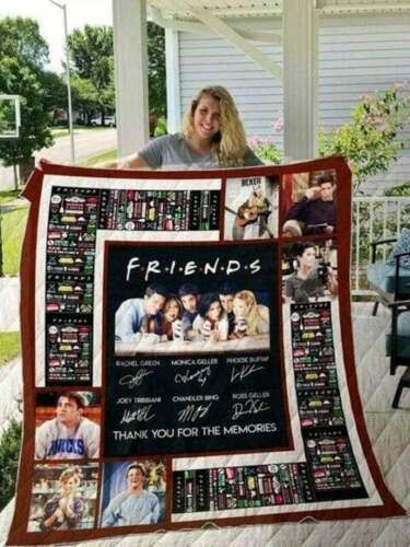 FRIENDS Tv show American sitcom television series V3 Sofa Blanket Gift