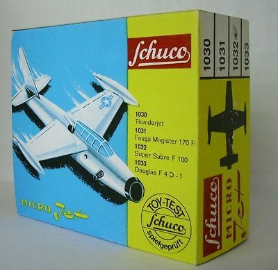 Repro Box Schuco Micro Jet Nr.1029 Boeing 737