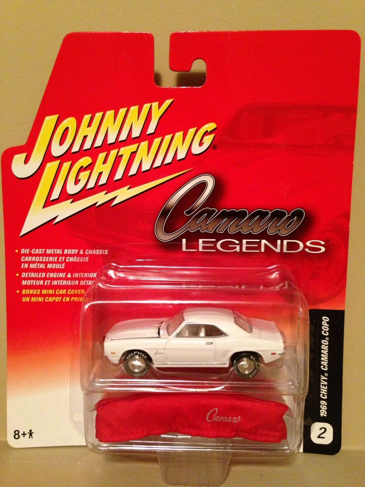 JL JL JL White Lightning Camaro Legends 69 Chevy Camaro COPO VHTF RARE e7500f