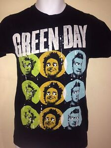 GREEN-DAY-2012-LADIES-FITTED-xtra-SMALL-T-SHIRT-PUNK-ROCK