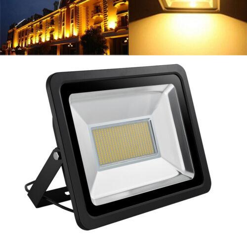 200W Cool//Warm White LED Flood Light Outdoor Security Floodlights 110V Work Lamp