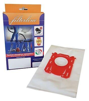 20 Sacchetto per Aspirapolvere Adatto Per Electrolux AirMax-serie