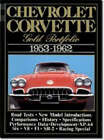 Chevrolet Corvette Gold Portfolio, 1953-62 by Brooklands Books Ltd (Paperback, 1990)