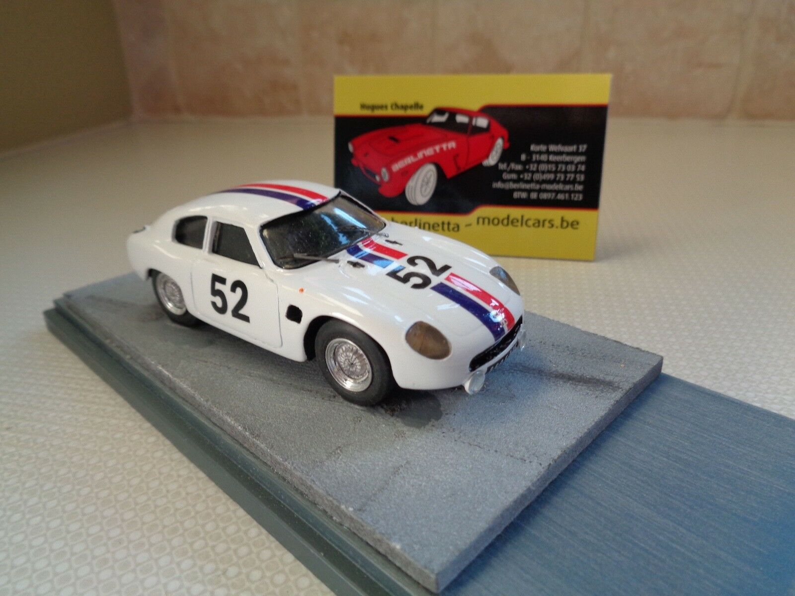PROVENCE MOULAGE DB PANHARD HBR5 24H LE MANS 1961 HANDBUILT 1 43 + DISPLAY-BOX