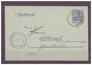 Empire-Allemand-Entier-Postal-P-63-Obereisenheim-apres-Fletan-03-07-1907