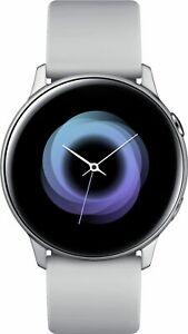 Samsung - Galaxy Watch Active Smartwatch 40mm Aluminum - Silver