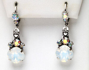 Image Is Loading Kirks Folly Fairy Essence White Opal Leverback Earrings