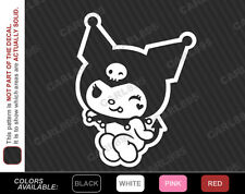 Hello Kitty Sanrio Kuromi (B) Car Truck SUV Vinyl Window Decal Sticker