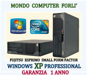 COMPUTER-FUJITSU-ESPRIMO-S-F-F-INTEL-CORE-2-DUO-E7600-WINDOWS-XP-PROFESSIONAL