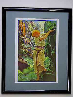 Maxfield Parrish Poster Prints 21 different posters matted and framed 16x20