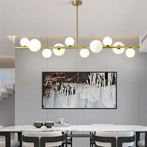 Large Bar Chandelier Lighting Kitchen Pendant Lights Glass Home Ceiling Light Au Ebay