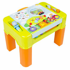 Kids Learning Activity Table With Quiz, Music, Lights, Shapes, Tools and Mo
