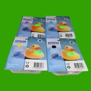 Satz-Tintenpatronen-Epson-T0551-T0552-T0553-T0554-R240-R245-u-a
