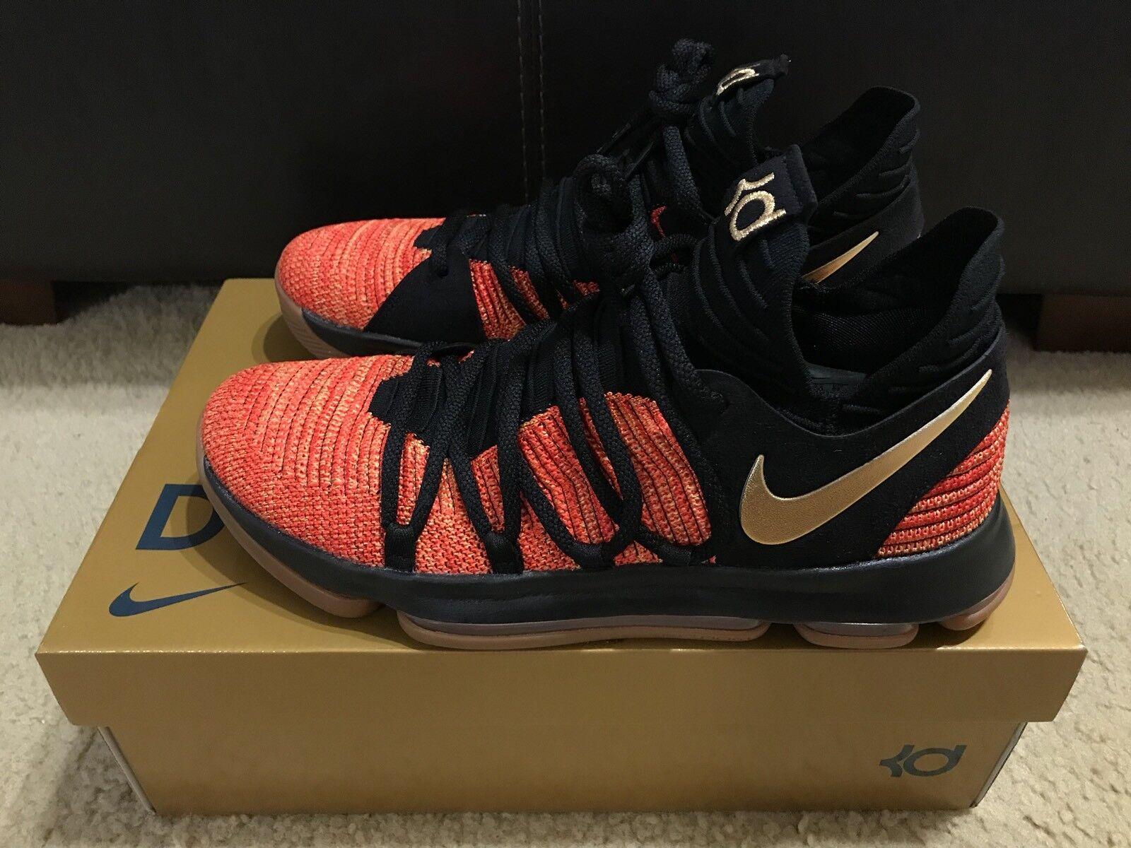 Nike Zoom KD10 X NFS Kevin Durant Men's sz 9 University Red CD6455 676 RARE NIB