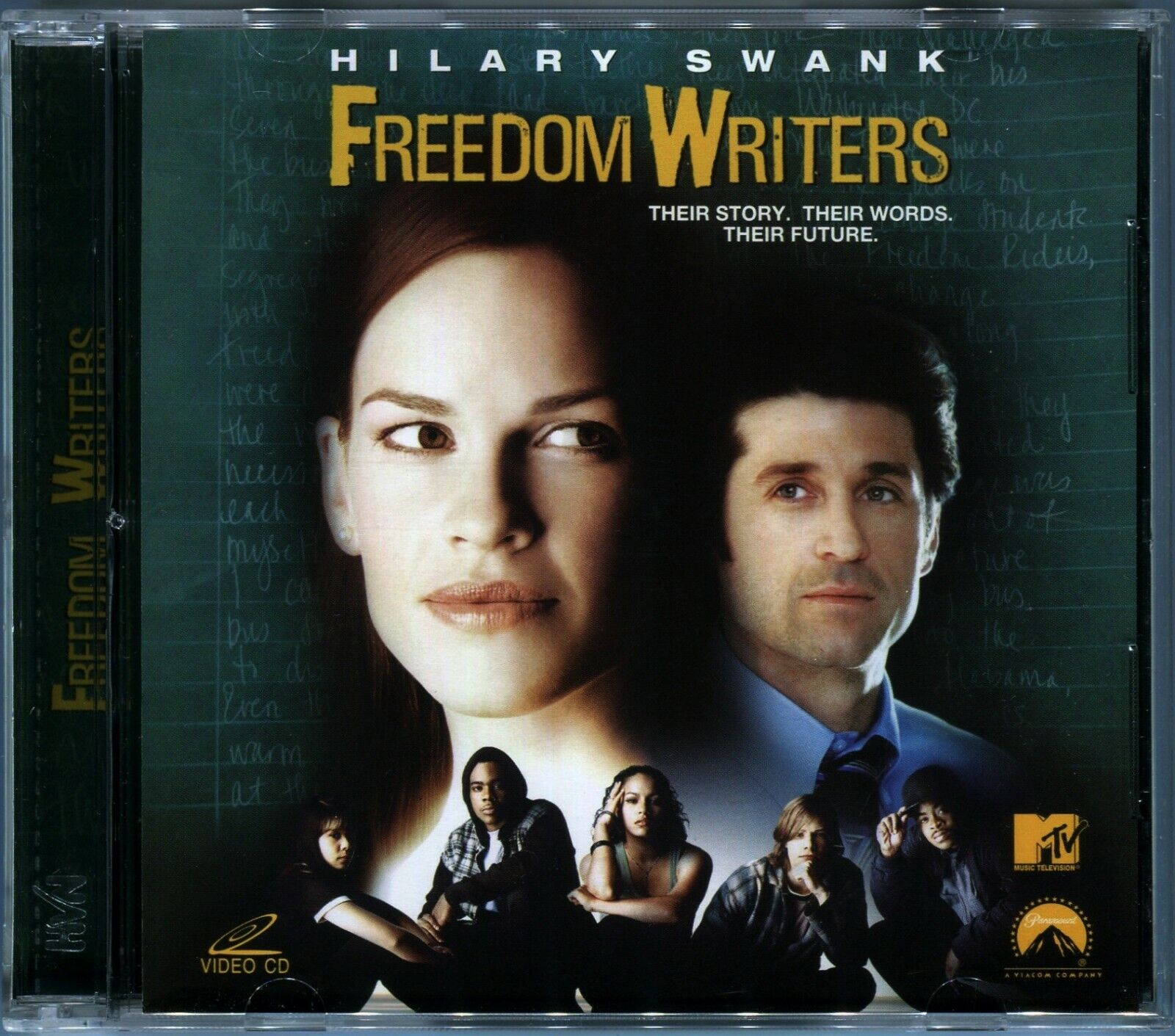 Details About 2007 Freedom Writers Hilary Swank Original Video Cd Vcd Set Rare Out Of Print