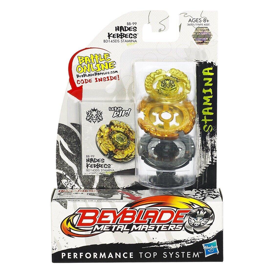 Hasbro Beyblade Hades Kerbecs BD145DS BD145DS BD145DS BB99 USA SELLER Metal Masters a67dba