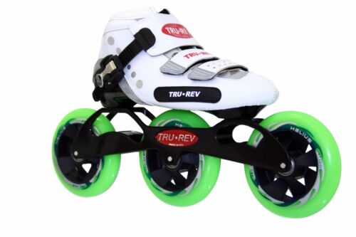 TruRev 3 wheel  Inline Speed Skate complete package. Size 5 to12