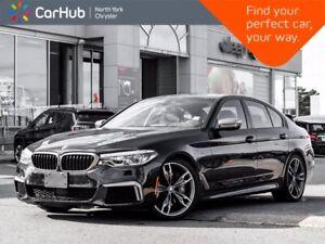 2019 BMW 5 Series M550i xDrive Massage Seats Harman Kardon Sunroof