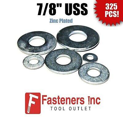 "5//16/"" USS Flat Washer Zinc Plated 5lbs 450 pcs"