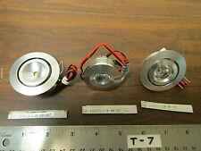 Set of 3 Different 12V LED Lighting Fixtures NOS