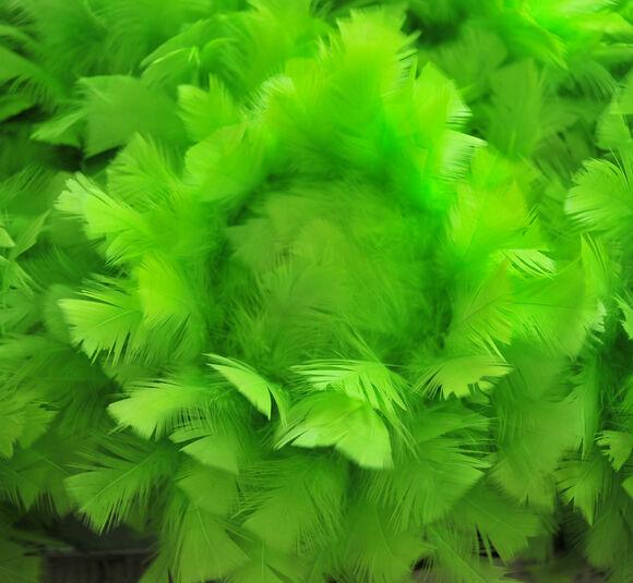 4pcs 12 in (environ 30.48 cm) Plume Boule Plume Pompon Grande Pièce Centrale Ballon-vert citron