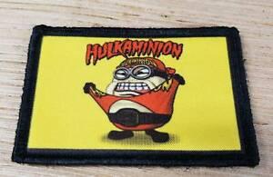 Minion-Hulk-Hogan-Morale-Patch-Funny-Tactical-Military-Army-Flag-USA-Tab-Hook