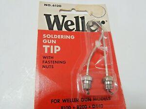 54000399 Weller 6120 Soldering Tip flat for Weller Guns