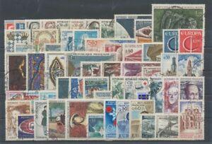 FRANCE Lot du N°1468 à 1599 Oblitérés, B/TB COTE 64,40€ N1728