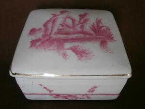 Boite porcelaine chine Qing Ange Old ceramic box chinese cherubs XIX - France - Une fois l'objet reu, contactez le vendeur dans un délai de Frais de retour 14 derniers jours Acheteur - France