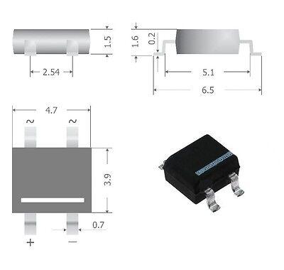 smd redresseur en pont s40 diotec redresseur 0,8 a//80v 10 st