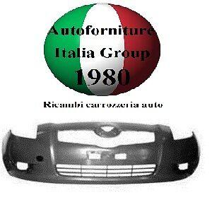 PARAURTI ANTERIORE ANT VERN NERO LISCIO TOYOTA YARIS 06/>08 2006/>2008
