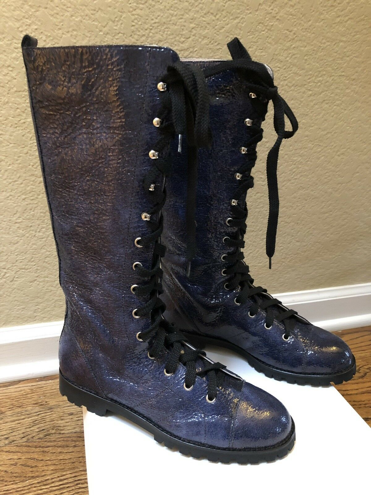 Marc Jacobs Laced Up Boots Size EUR 39.5 (US 9-9.5) New